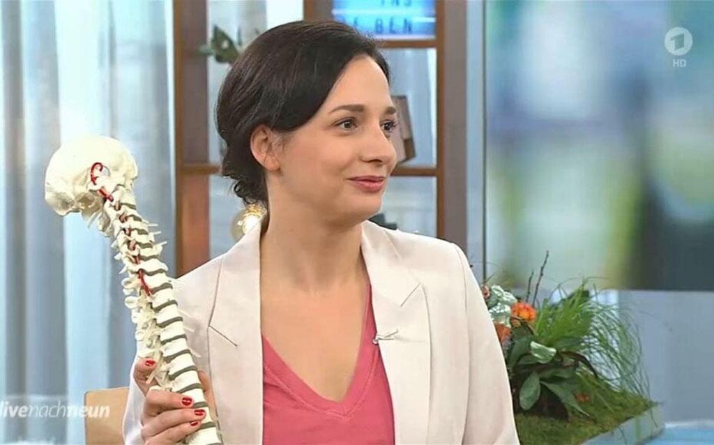 Bei Live nach Neun am internationalen Tag der Rückengesundheit